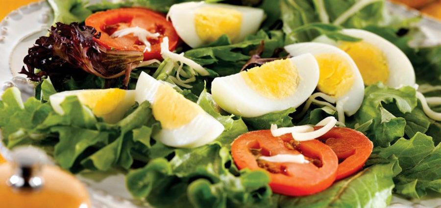Tunča salāti ar olu