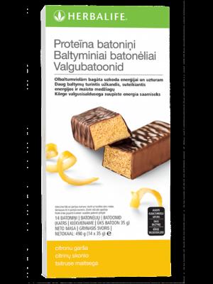 Proteīna batoniņi ar citronu garšu
